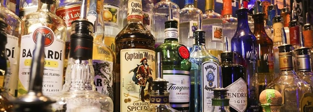 Different kinds of liquor